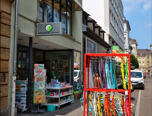 Gruener Krebs Erbprinzenstraße 21, 76133 Karlsruhe 0721 25542