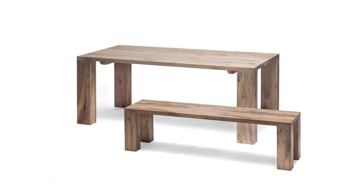 massivholz esstisch arpad gr ner krebs. Black Bedroom Furniture Sets. Home Design Ideas