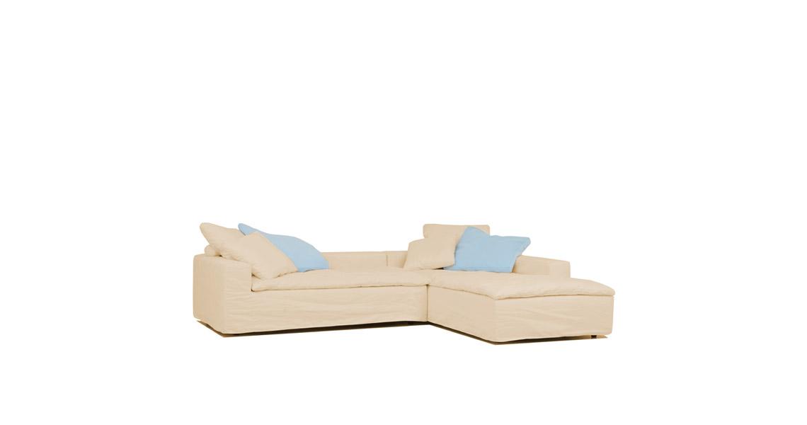 hussen sofa capri gr ner krebs. Black Bedroom Furniture Sets. Home Design Ideas