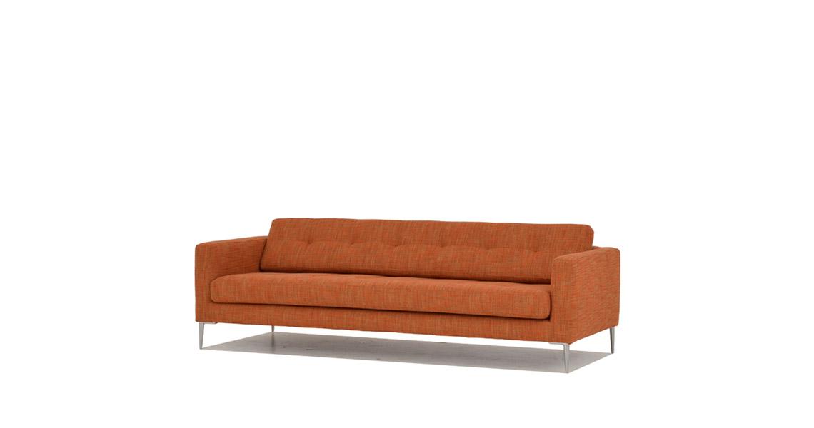 sofa tibaldo gr ner krebs. Black Bedroom Furniture Sets. Home Design Ideas