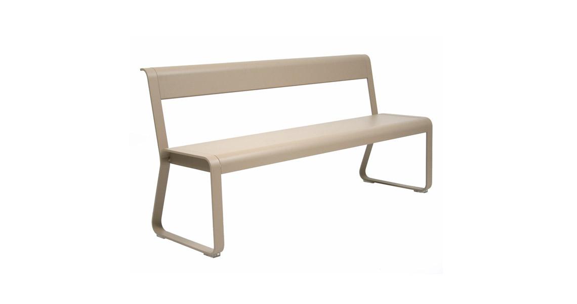 fermob bellevie bank gr ner krebs. Black Bedroom Furniture Sets. Home Design Ideas