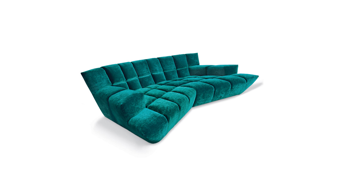 Sofa Cloud 7 - Grüner Krebs